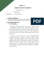 Modul 3 - Comparator
