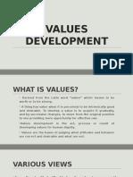 Values Development