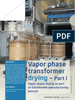 Vapor phase dry out
