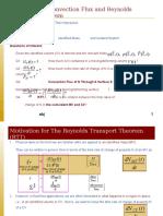 2103-351 - 2009 - Lecture Slide 5.0 - Convection Flux and Reynolds Transport Theorem (RTT).ppt