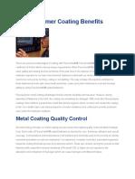 Fluoropolymer Coating Benefits