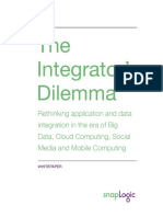 SnapLogic Whitepaper - The Integrator's Dilemma Whitepaper