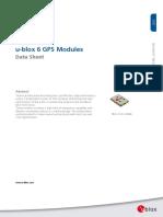 Uart Gps Neo-6m (b)_neo 6 Datasheet