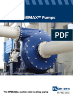 Krebs Mill Max Centrifugal Slurry Pump We Bx