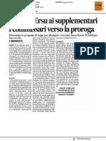 Riforma ERSU ai supplementari - Il Corriere Adriatico del 21 gennaio 2017