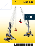 Liebherr LHM 550 Mobile Harbour Crane Data Sheet en 9980-0