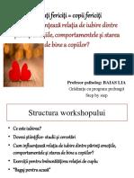 2015 03 17 Parinti Fericiti Copii Fericiti Workshop