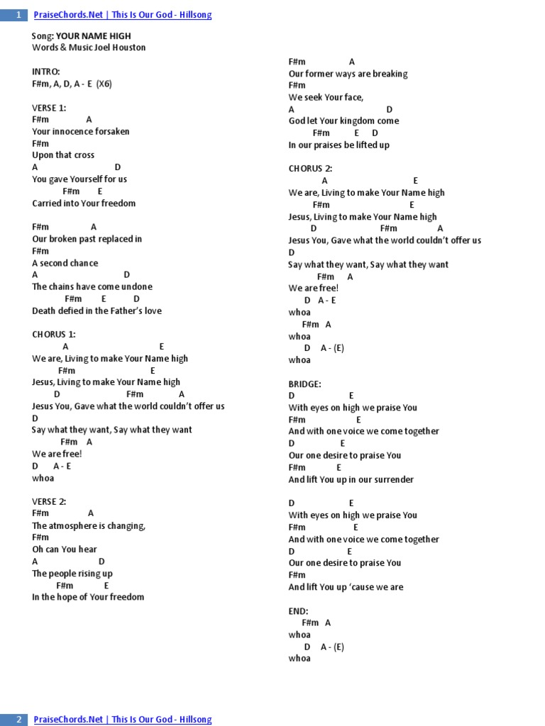 The Stand Hillsong Chords Images Piano Chord Chart With Finger
