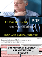 Dysphagia in Elderly