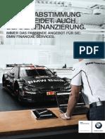 BMW Produktinfoblatt Finanzierung