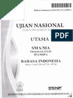 Soal Un Sma Bahasa Indonesia Program Studi Ipa