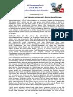 Eisspeedway Berlin 2017, Pressemitteilung 170123