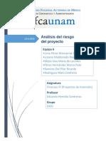 Equipo 6 - Análisis del riesgo del proyecto (FINAL)