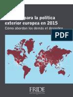 Desafios Para La Politica Exterior Europea 2015