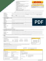 DHL Application Form