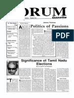 The Forum Gazette Vol. 3 No. 3 February 15-28, 1989