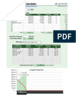 Debt Reduction Calculator 10