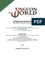 Dungeon World Jatekosok Konyve v2