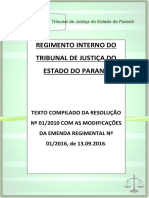 Regimento Interno Do TJPR