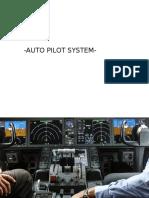 Flight Control System-Auto Pilot
