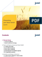 2011-09 Prsentation Juwi Solar en Nxpowerlite