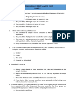 Sample Exam Part-2 (Analysis Phase)