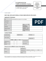 SCP Application Form