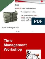 OP 220 Time Management Workshop