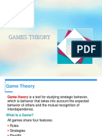 Game Theory - Economics