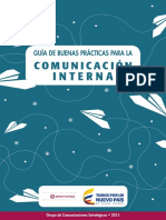 Guia - Buenas Prácticas Para La Comunicación Interna 1.0