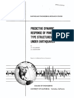 Predictive Dynamic Response of Panel Type Structures Under Earthquakes (Kollegger, J. P.; Bouwkamp, J. G.; 1980)