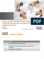 Trends Regulations Export Apparel Footwear Markets