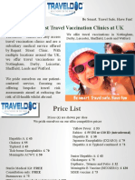 TravelDoc™ is Best Travel Vaccination Clinics at UK