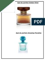 Apă de Parfum Amber Elixir