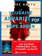 Claire North - La Soudaine Appaarition de Hope Arden