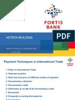 FORTIS Financial Presentation ASTRON 1-10-2008