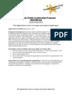 48717_IYLP on Demand 2017 Student Application