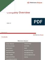 Mahindra Satyam Company Overview