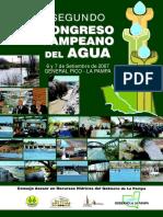 Libro Segundo Congreso Del Agua