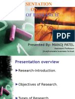 presentationontypesofresearch-140224012928-phpapp01.ppsx