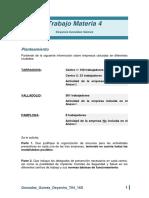 T4. Organización preventiva. Calificación