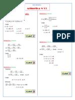 Intensivo Aritm 03 Numeracion SOLUCIONARIO