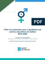 Plan Actuacions Igualdade Educacion
