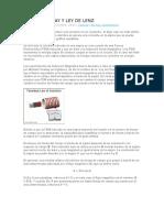 Ley de Faraday y Ley de Lenz