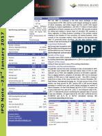 BSE Ltd. - IPO Note- Nirmal