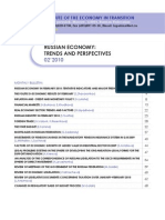 Iet - Russian Economy Trends and Perspectives - 02-10eng