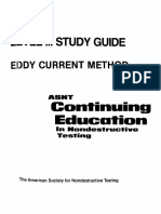 ASNT Level III Study Guide Eddy Current