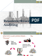 E) Resource Reserve Auditing