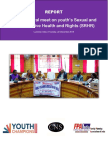 Report on inter-sectoral meeting on youth's SRHR