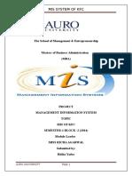 Management Information System Kfc